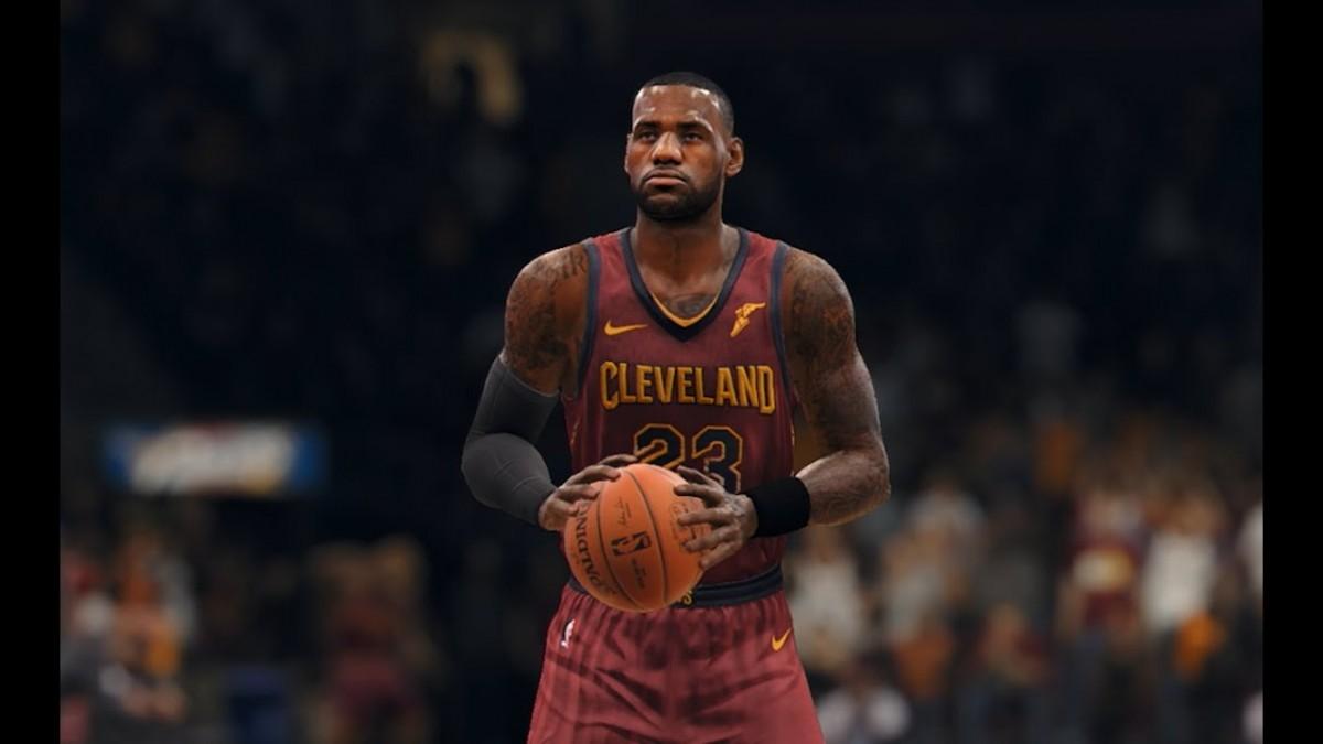 10 Minutes of NBA Live...
