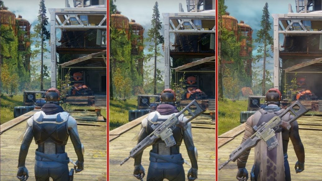 Destiny 2 Graphics Comparison: PS4 vs. PS4 Pro vs. Xbox ... Xbox One X Vs Ps4 Pro Graphics Comparison