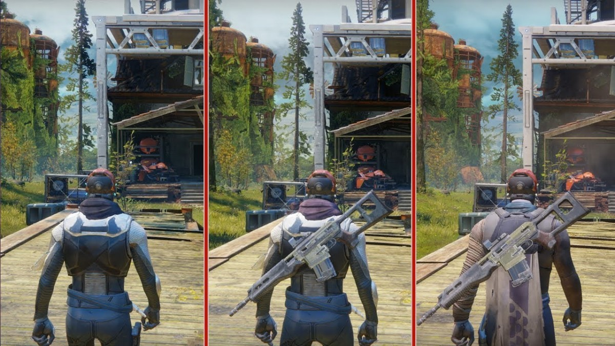 Destiny 2 Graphics Comparison Ps4 Vs Ps4 Pro Vs Xbox