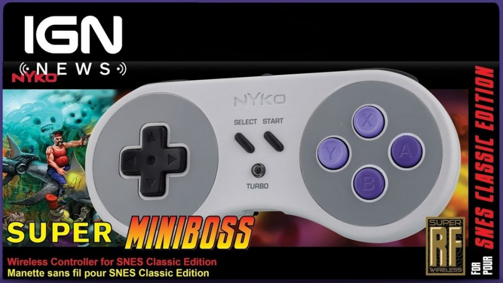 Artistry in Games SNES-Classic-Edition-Wireless-Controller-Announced-by-Nyko-IGN-News-1036x583 SNES Classic Edition Wireless Controller Announced by Nyko - IGN News News  Xbox Scorpio Xbox One videos games TV game systems Super Nintendo Entertainment System: Super NES Classic Edition Nintendo IGN News IGN gaming games feature Breaking news #ps4