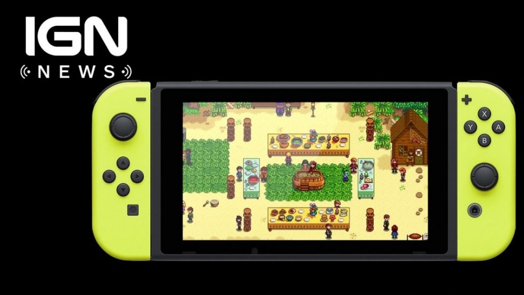 Artistry in Games Stardew-Valley-Publisher-Gives-Progress-Update-on-Switch-Version-IGN-News-1036x583 Stardew Valley Publisher Gives Progress Update on Switch Version - IGN News News  Xbox Scorpio Xbox One Wii-U videos games Stardew Valley PC Nintendo Switch Nintendo IGN News IGN gaming games feature Breaking news #ps4