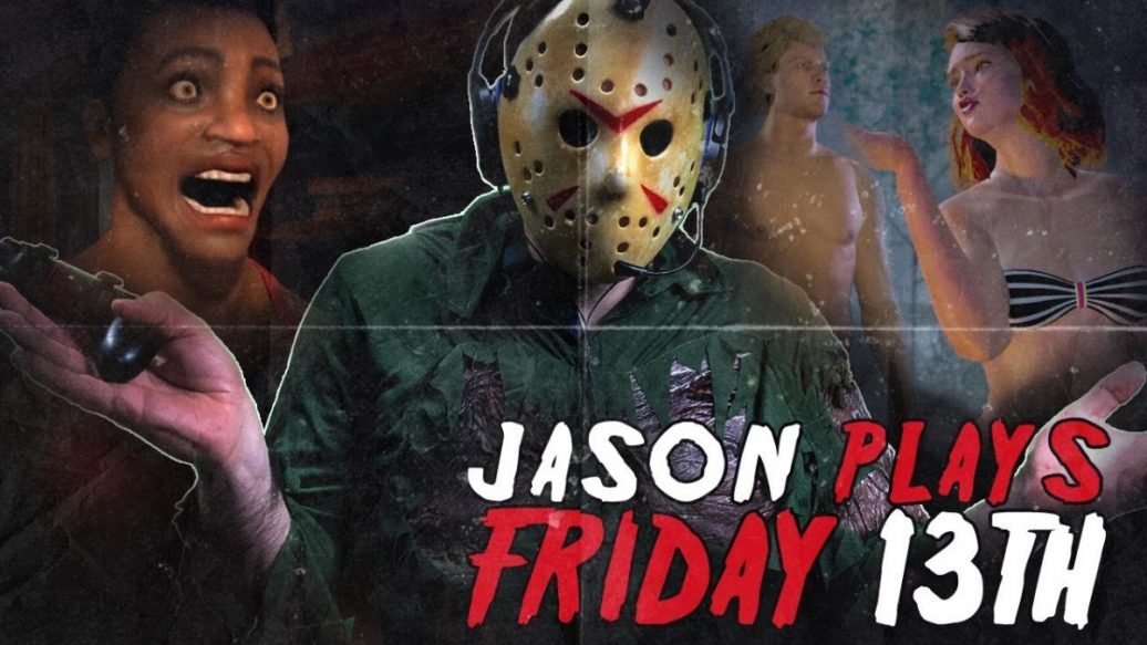 Artistry in Games Jason-Plays-Friday-the-13th-on-Friday-the-13th-1036x583 Jason Plays Friday the 13th on Friday the 13th News  Xbox One spooky PC let's play jason vorhees Illfonic IGN horror halloween Gun Media games Friday the 13th: The Game feature comedy Action #ps4