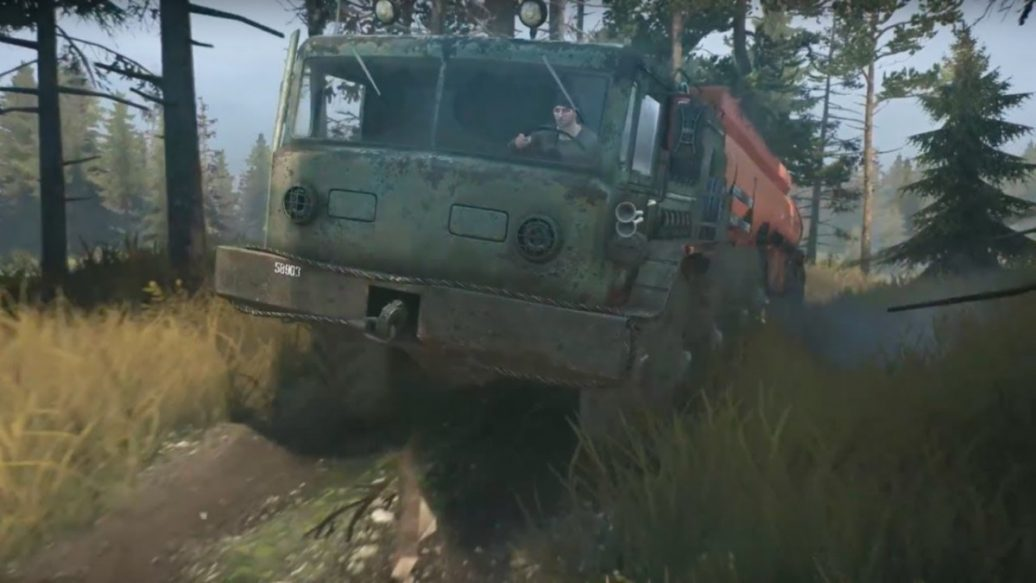spintires mudrunner official gameplay trailer artistry. Black Bedroom Furniture Sets. Home Design Ideas