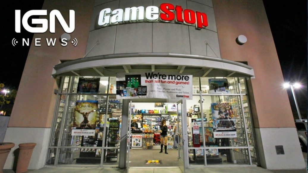 Artistry in Games GameStop-Suspends-PowerPass-Used-Game-Rental-Service-IGN-News-1036x583 GameStop Suspends PowerPass Used Game Rental Service - IGN News News  Xbox Scorpio Xbox One videos games Nintendo IGN News IGN gaming GameStop games feature companies Breaking news #ps4
