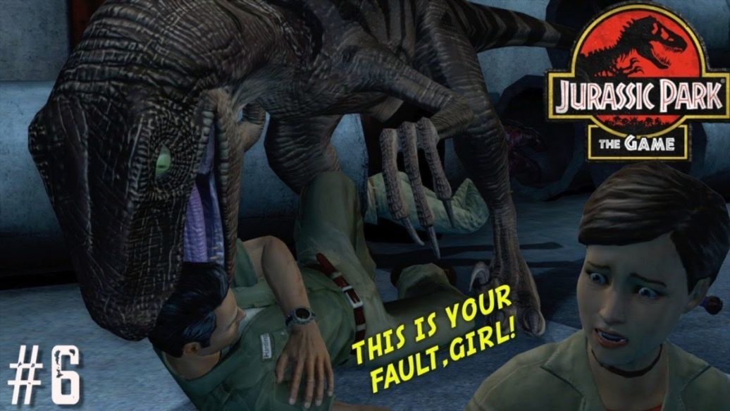 """Artistry in Games MY-OUTTA-CONTROL-DAUGHTER-GOT-ME-CAUGHT-UP-FUNNY-JURASSIC-PARK-THE-GAME-GAMEPLAY-6-1036x583 MY OUTTA CONTROL DAUGHTER GOT ME CAUGHT UP!( FUNNY """"JURASSIC PARK, THE GAME"""" GAMEPLAY #6) News  xbox one gaming let's play jurassic park the game jurassic park telltale gameplay gameplay walkthrough"""