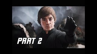Artistry in Games STAR-WARS-BATTLEFRONT-2-Walkthrough-Part-2-Luke-SKywalker-PC-Lets-Play-Commentary STAR WARS BATTLEFRONT 2 Walkthrough Part 2 - Luke SKywalker (PC Let's Play Commentary) News  walkthrough Video game Video trailer Single review playthrough Player Play part Opening new mission let's Introduction Intro high HD Guide games Gameplay game Ending definition CONSOLE Commentary Achievement 60FPS 60 fps 1080P
