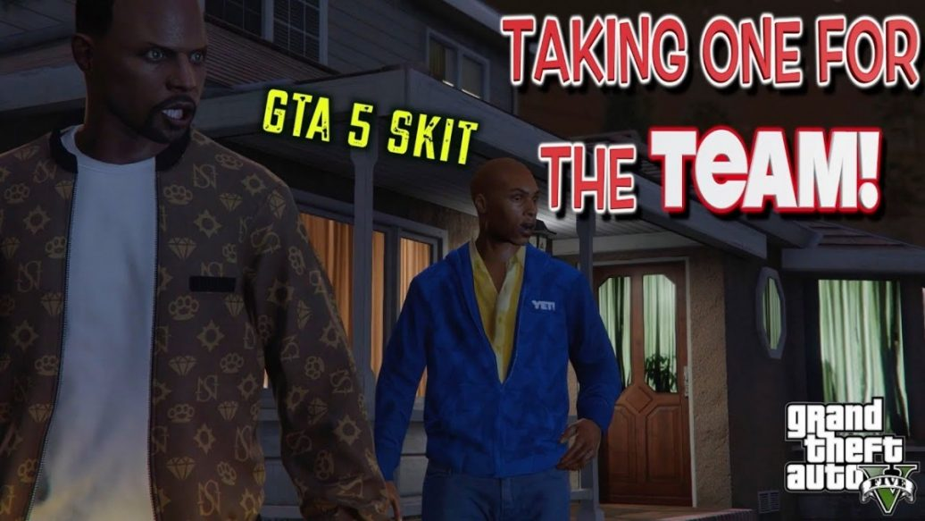 Artistry in Games TAKING-ONE-FOR-THE-TEAM-A-GTA5-SKIT-BY-ITSREAL85VIDS-1036x583 TAKING ONE FOR THE TEAM! ( A GTA5 SKIT BY ITSREAL85VIDS) News  let's play itsreal85vids gta 5 skits itsreal85vids gaming videos hilarious gta 5 skit gameplay gameplay walkthrough
