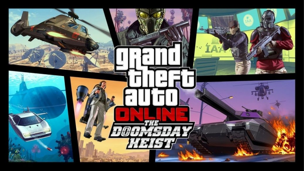 Artistry in Games GTA-Online-Doomsday-Heist-Trailer-1036x583 GTA Online: Doomsday Heist Trailer News  Xbox One XBox 360 trailer Rockstar North Rockstar Games PS3 PC New heist IGN Heists Grand Theft Auto Online games Action #ps4