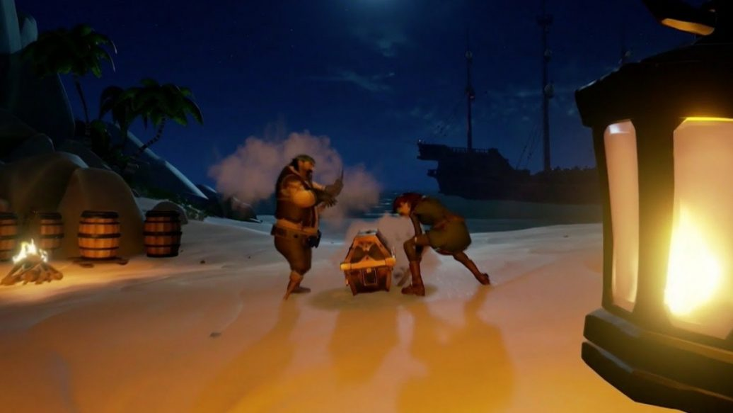 sea of thieves release date trailer artistry in games