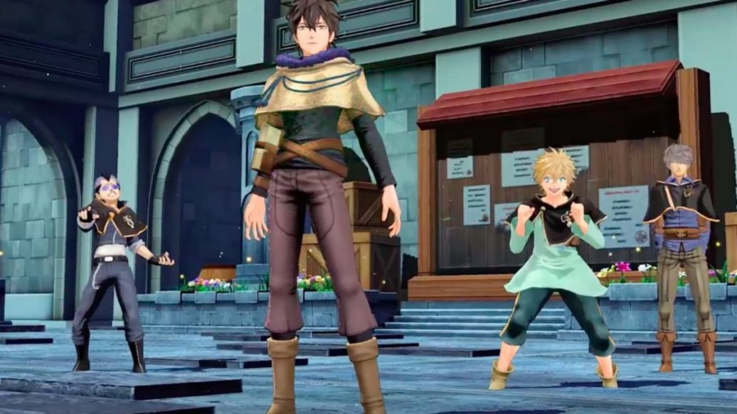 Artistry in Games Black-Clover-Quartet-Knights-Official-Control-the-Zone-Trailer-1036x583 Black Clover: Quartet Knights Official Control the Zone Trailer News  trailer PC IGN games Black Clover: Quartet Knights Bandai Namco Games Action #ps4