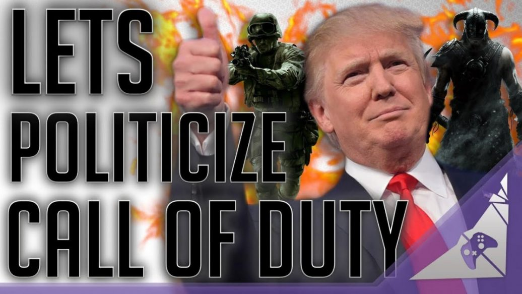 Artistry in Games Lets-Politicize-Video-Games.-COD-WW2-1036x583 Let's Politicize Video Games. (COD WW2) Reviews  wwII trump destiny 2 cod ww2 Call of Duty