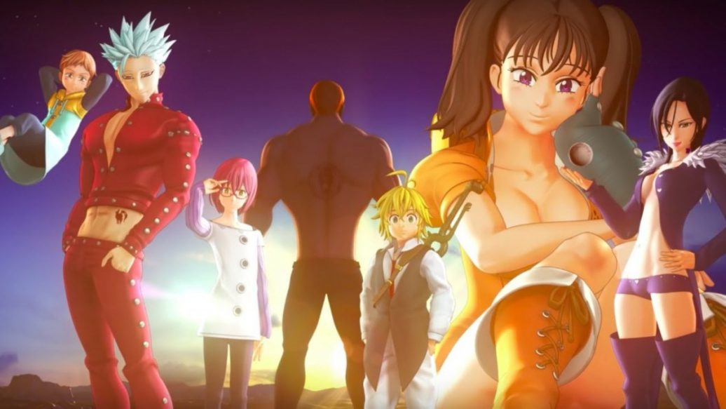 Artistry in Games The-Seven-Deadly-Sins-Knights-to-Britannia-Official-Adventure-Mode-Trailer-1036x583 The Seven Deadly Sins: Knights to Britannia Official Adventure Mode Trailer News  trailer The Seven Deadly Sins: Knights of Britannia RPG IGN games Bandai Namco Games #ps4