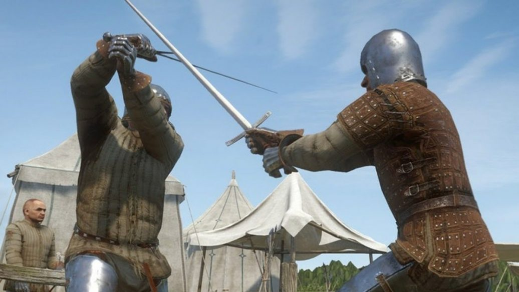 Artistry in Games Kingdom-Come-Deliverance-Combat-Gameplay-Fighting-3-Bandits-At-Once-1036x583 Kingdom Come Deliverance Combat Gameplay: Fighting 3 Bandits At Once News  Xbox One Warhorse Studios RPG PC Kingdom Come: Deliverance kingdom come IGN games Gameplay deliverance Deep Silver combat bandits #ps4