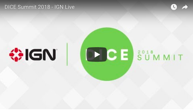 Artistry in Games Screen-Shot-2018-02-27-at-12.11.32-AM DICE 2018: AI for Storytelling News  Videogames video games Phil Spencer Neil Druckmann las vegas ign live IGN dice summit dice awards Dice