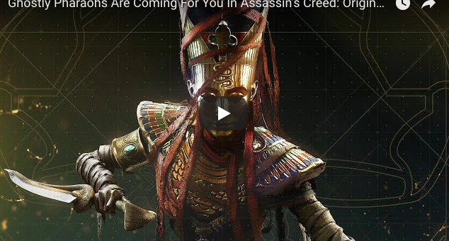Artistry in Games Screen-Shot-2018-02-27-at-9.15.44-AM Ghostly Pharaohs Are Coming For You In Assassin's Creed: Origins' New DLC News  Xbox One Ubisoft Montreal Ubisoft top videos Preview PC ign game preview IGN games game previews Assassin's Creed Origins adventure Action #ps4