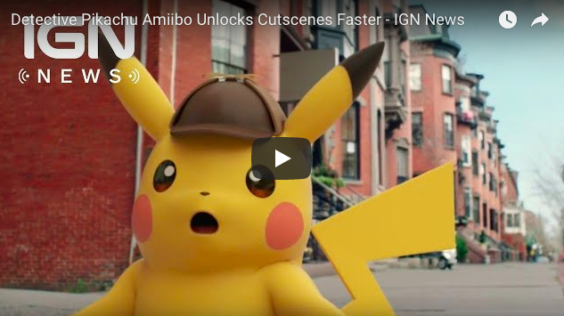 Artistry in Games Screen-Shot-2018-02-27-at-9.21.09-AM Detective Pikachu Amiibo Unlocks Cutscenes Faster - IGN News News  The Pokemon Company puzzle Nintendo IGN games feature Detective Pikachu: Birth of a New Team Creatures adventure 3DS