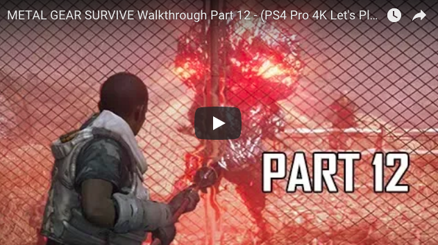 Artistry in Games Screen-Shot-2018-02-27-at-9.32.43-AM METAL GEAR SURVIVE Walkthrough Part 12 - (PS4 Pro 4K Let's Play) News  walkthrough Video game Video trailer Single review playthrough Player Play part Opening new mission let's Introduction Intro high HD Guide games Gameplay game Ending definition CONSOLE Commentary Achievement 60FPS 60 fps 1080P