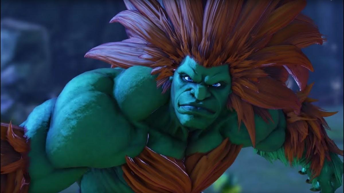 street fighter v arcade edition � blanka gameplay trailer