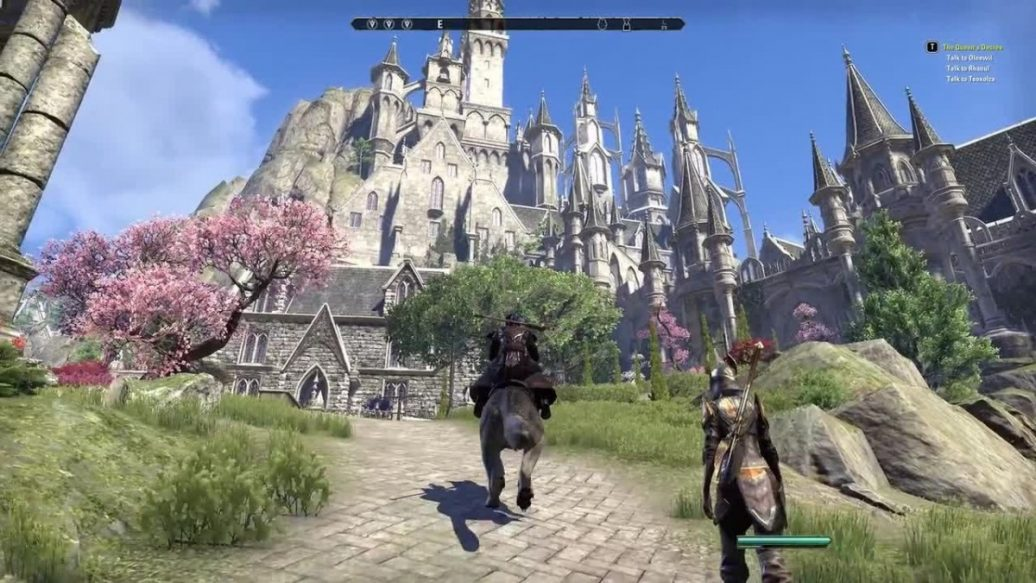 Artistry In Games Elder Scrolls Online Summerset Exploring Alinor And