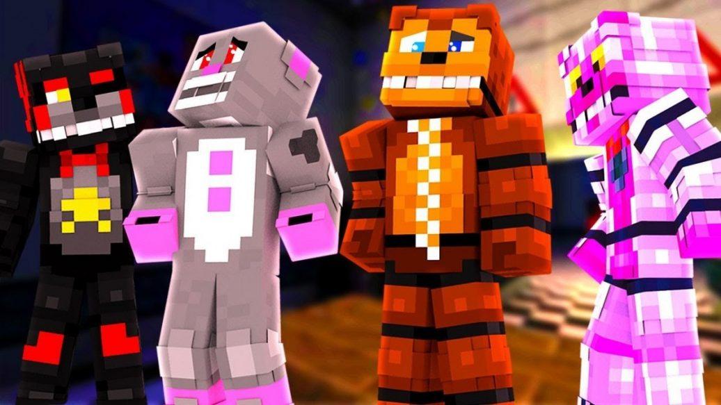 Minecraft FNAF: NEW ANIMATRONICS !? Night 1 (Minecraft FNAF Ultimate Custom  Night Roleplay)