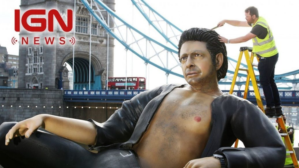Artistry in Games Theres-a-25-Foot-Tall-Jeff-Goldblum-Statue-in-London-IGN-News-1036x583 There's a 25-Foot Tall Jeff Goldblum Statue in London - IGN News News