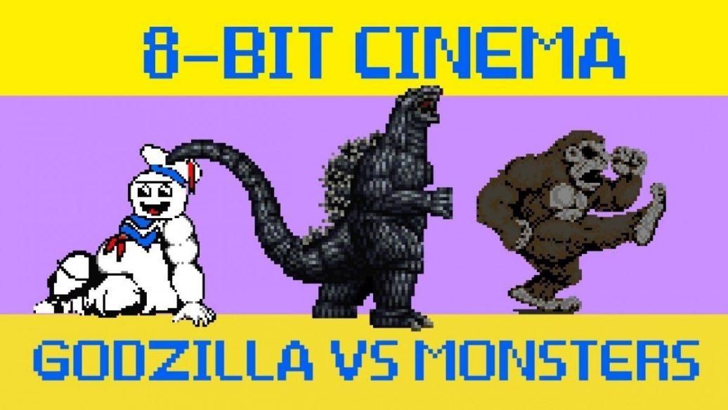 Artistry in Games Godzilla-vs-Monsters-8-Bit-Cinema-1036x583 Godzilla vs Monsters - 8 Bit Cinema News
