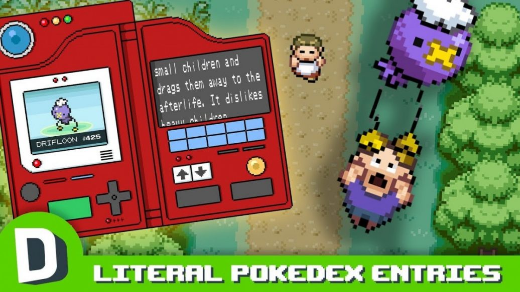 Artistry in Games If-PokeDex-Entries-Were-Literal-1036x583 If PokeDex Entries Were Literal Reviews