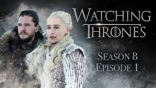 "Artistry in Games Game-of-Thrones-Season-8-Episode-1-Winterfell-Watching-Thrones Game of Thrones Season 8 Episode 1 ""Winterfell"" 