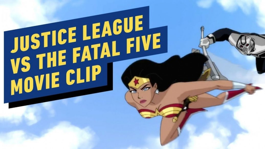 """Artistry in Games Justice-League-vs.-The-Fatal-Five-Battle-In-the-Sky-Clip-1036x583 Justice League vs. The Fatal Five - """"Battle In the Sky"""" Clip News"""