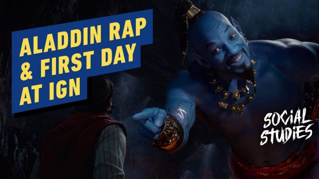 Artistry in Games Aladdin-Fresh-Prince-of-Agrabah-First-Day-at-IGN-LA-Social-Studies-3-1036x583 Aladdin: Fresh Prince of Agrabah & First Day at IGN LA - Social Studies #3 News