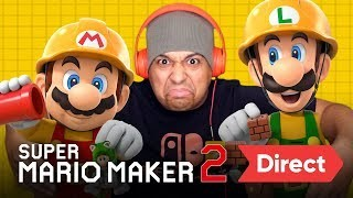 Artistry in Games SUPER-MARIO-MAKER-2-DIRECT-LIVE-REACTION SUPER MARIO MAKER 2 DIRECT [LIVE REACTION] News