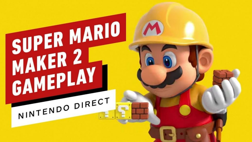 Artistry in Games Super-Mario-Maker-2-Gameplay-All-New-Building-Co-Op-Story-Mode-Changes-1036x583 Super Mario Maker 2 Gameplay - All New Building, Co-Op, Story Mode Changes News