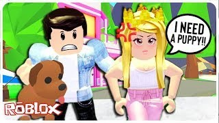 Artistry in Games The-Spoiled-Rich-Girl-Made-Her-Boyfriend-Buy-Her-a-Puppy...-Adopt-Me-Roblox-Roleplay-Update The Spoiled Rich Girl Made Her Boyfriend Buy Her a Puppy... Adopt Me Roblox Roleplay Update News