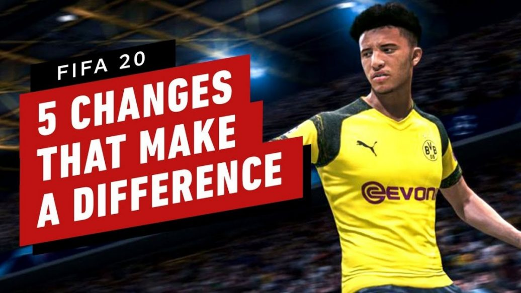 Artistry in Games FIFA-20-5-Gameplay-Changes-That-Make-A-Difference-1036x583 FIFA 20: 5 Gameplay Changes That Make A Difference News