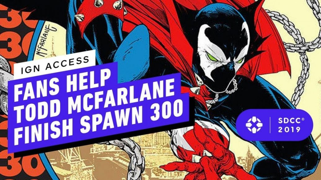 Artistry in Games Fans-Help-Todd-McFarlane-Finish-Spawns-300th-Issue-1036x583 Fans Help Todd McFarlane Finish Spawn's 300th Issue! News