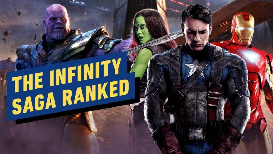 Artistry in Games The-MCUs-Infinity-Saga-Ranked-1036x583 The MCU's Infinity Saga Ranked News
