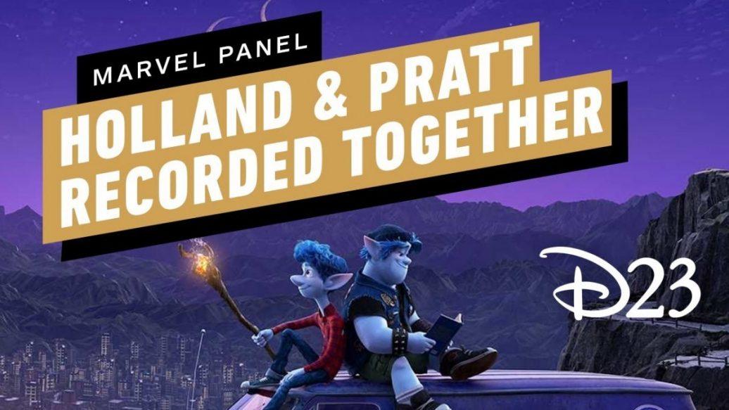 Artistry in Games Tom-Holland-and-Chris-Pratt-Filmed-Together-for-Pixars-Onward-D23-2019-ign-1036x583 Tom Holland and Chris Pratt Filmed Together for Pixar's Onward - D23 2019 ign News
