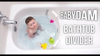 Artistry in Games BabyDam-is-a-divider-that-creates-an-instant-baby-tub-and-Save-Water-MUST-HAVE-INVENTIONS BabyDam is a divider that creates an instant baby tub and Save Water | MUST HAVE INVENTIONS News Reviews