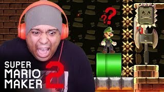 Artistry in Games WHY-WOULD-THEY-TORTURE-ME-LIKE-THIS-SUPER-MARIO-MAKER-2-17 WHY WOULD THEY TORTURE ME LIKE THIS!!? [SUPER MARIO MAKER 2] [#17] News